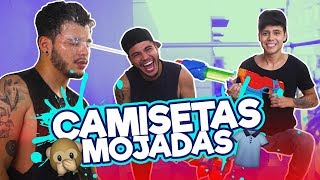 CAMISETAS MOJADAS CHALLENGE Ft. Sebastian Villalobos // Mario Ruiz