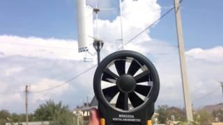 Вертикальный ветрогенератор(Вертикалка, уменьшил диаметр с 2м до 1,6м удлинение лопасти стало 1,25 угол атаки +5 градусов Профиль NACA6409 хорда..., 2016-08-30T16:41:52.000Z)