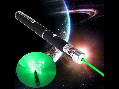 $10 Powerful Green Laser Pointer Pen Visible Beam Light 5mW Lazer High Power 532nm