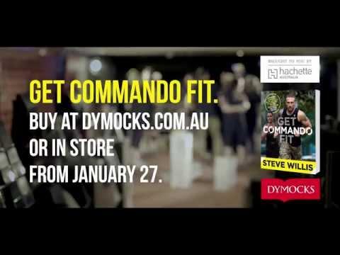 Commando Steve helps Dymocks get Commando fit