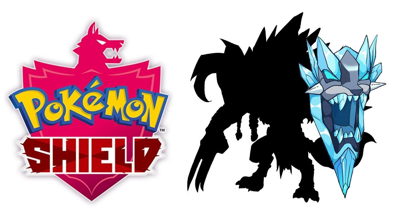 Legendary Pokémon Shield Fan Art Youtube
