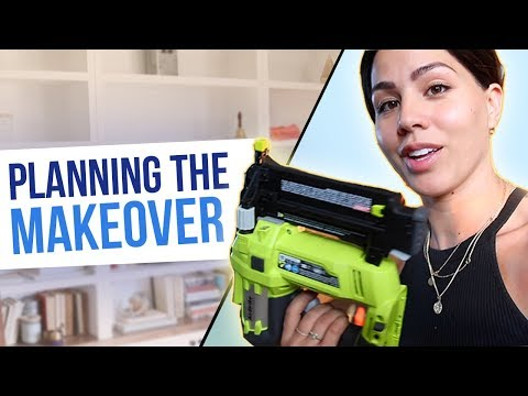 DIY Home Office Makeover: Part 1 | MeganBatoon