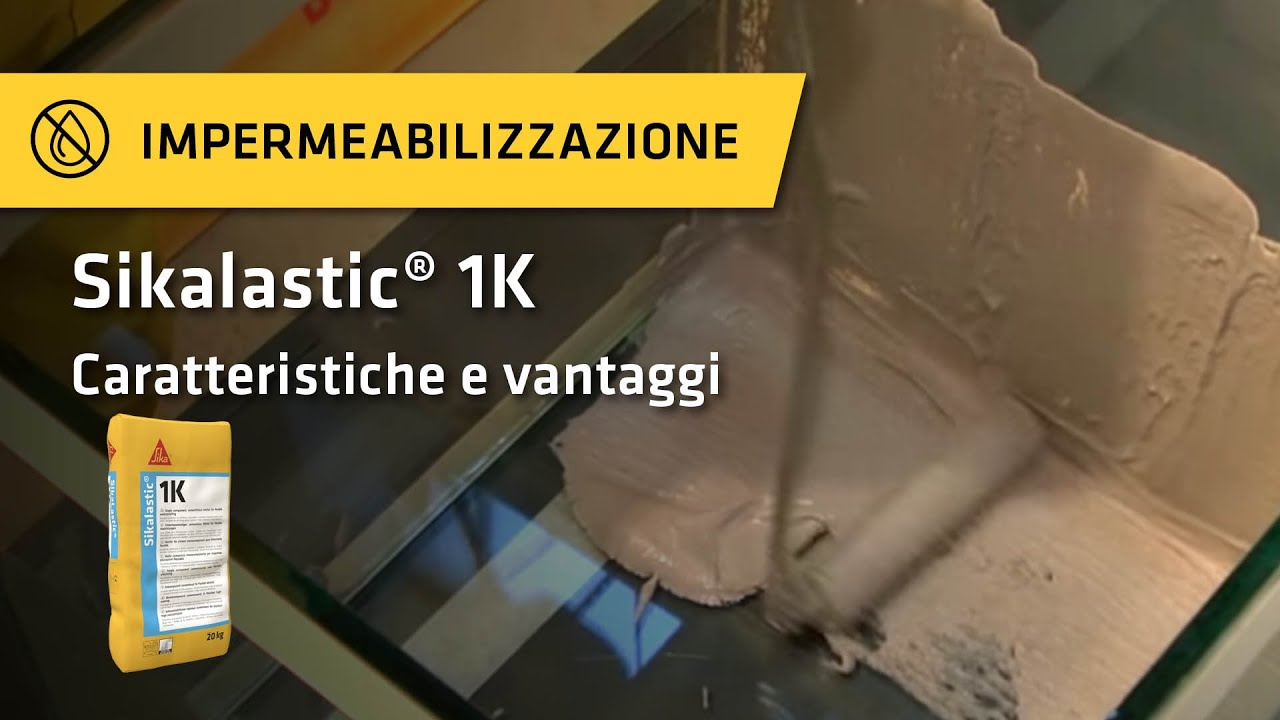 Sikalastic® -1K - YouTube