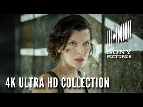 RESIDENT EVIL: The 4K Ultra HD Collection – Available Now!