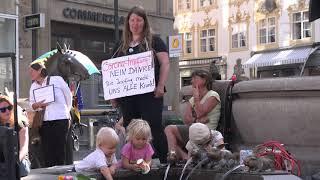 Demostration für unsere Grundrechte Konstanzer Markstätte am 09.05.20