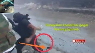 Kompilasi Tentara Syuriah FSA gagal nyaris tewas
