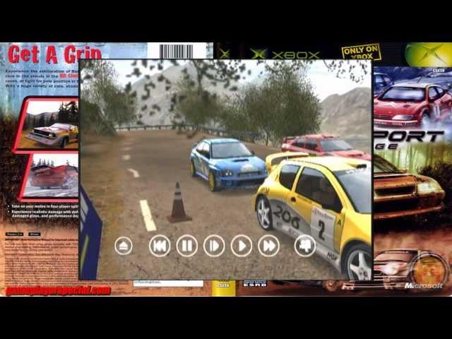 RalliSport Challenge - Xbox - 2002