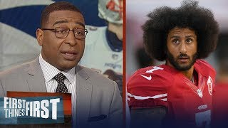 Cris Carter thinks Patriots would sign Kaepernick to succeed Tom Brady | NFL | FIRST THINGS FIRST