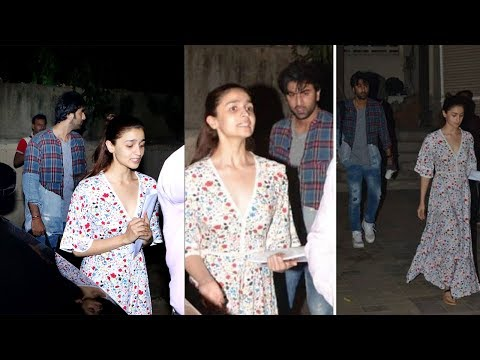 Ranbir Kapoor and Alia Bhatt fight with each other after dance class Mp3