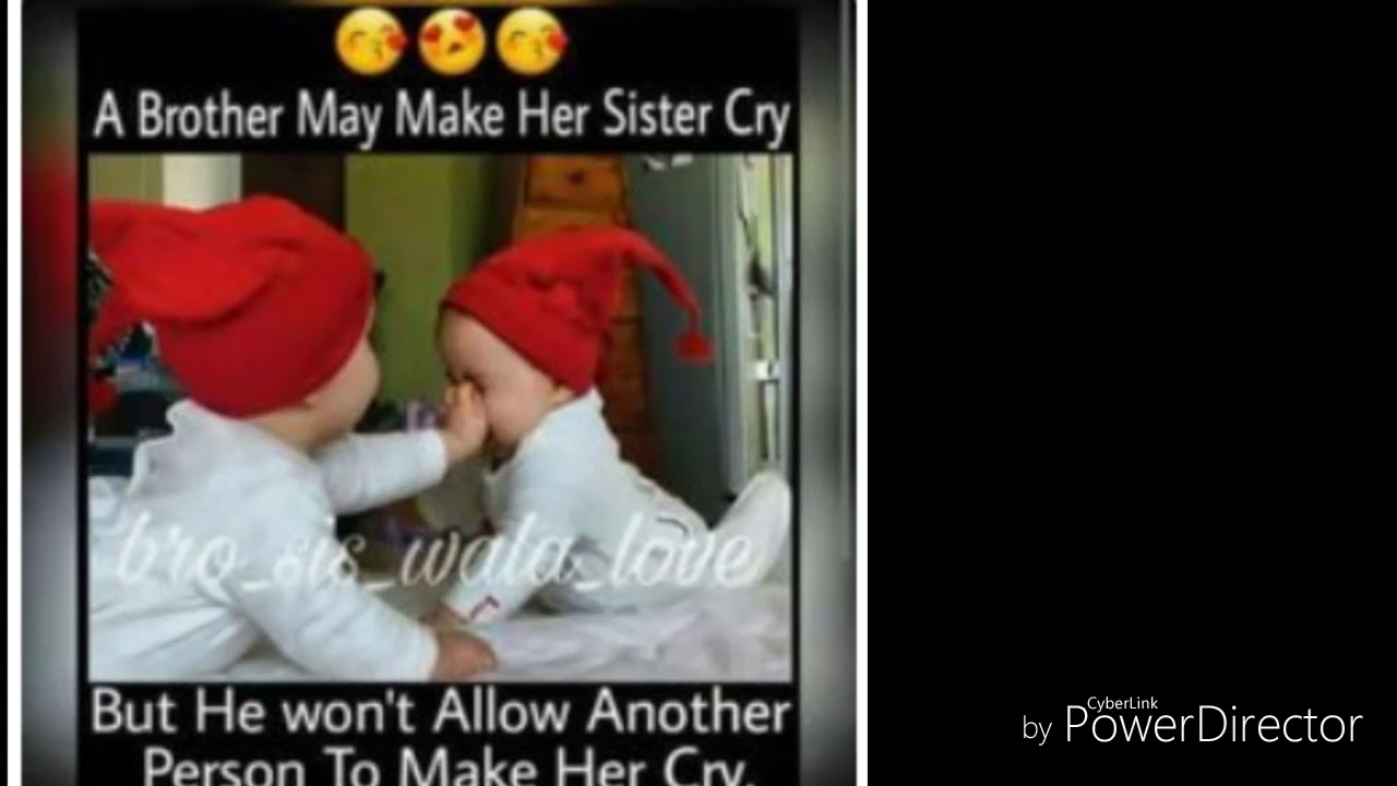 Brother And Sister Relationship For Whatsapp Status Youtube