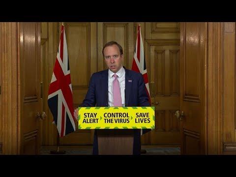 In full: Matt Hancock leads the government coronavirus briefing - June 8 | ITV News