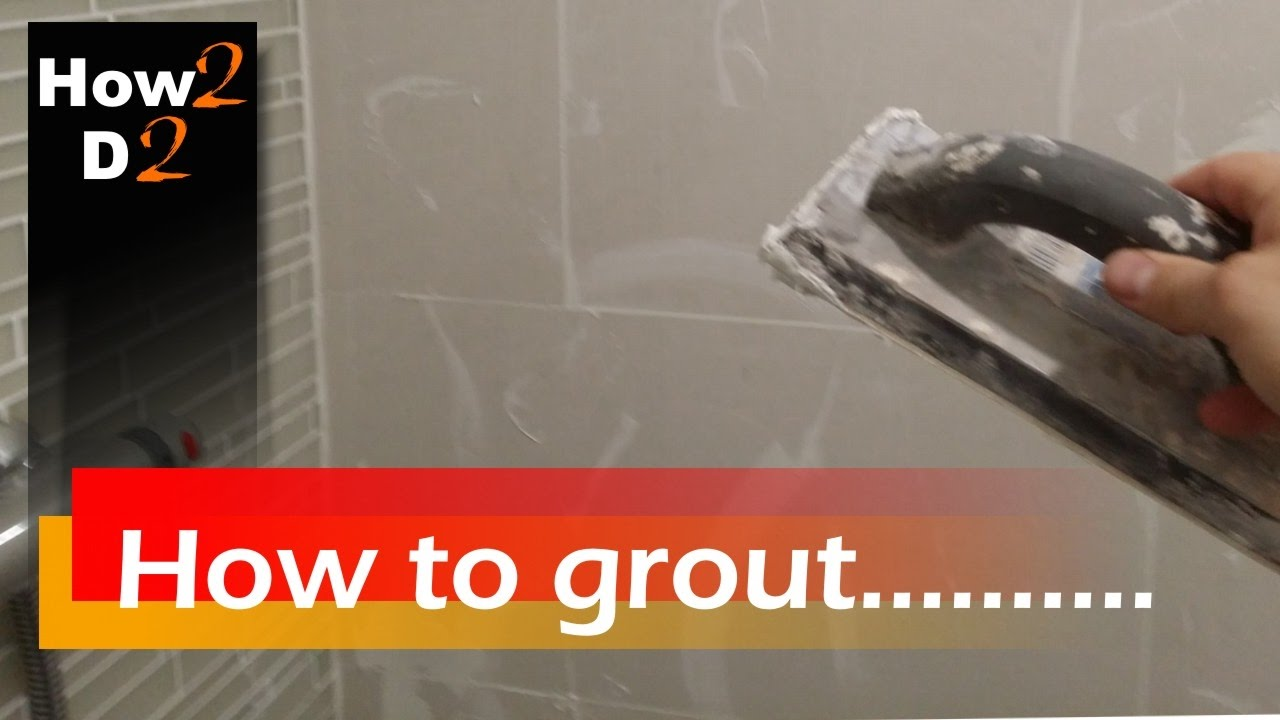 Grouting tiles how to mix grout grout tile spacers with grouting tiles how to mix grout grout tile spacers with spreader video dailygadgetfo Choice Image