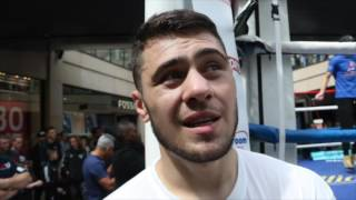 DAVE ALLEN - 'I MAY LOOK S***! BUT I WILL WIN & STOP DILLIAN WHYTE' /  & TALKS GOLOVKIN v BROOK