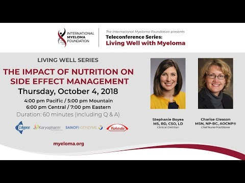 LWM- The Impact of Nutrition on Side Effect Management