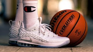 Nike Lebron 15 Low Performance Overview   Casual Review   How to Style Basketball Sneakers