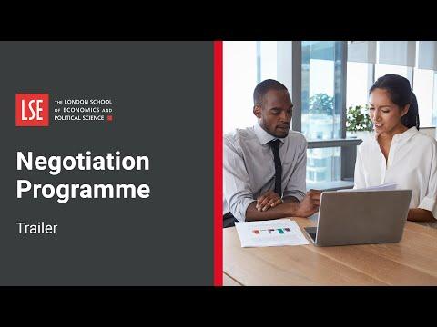 Negotiation Programme | LSE Course Trailer