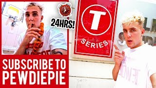 I SPENT 24HRS INSIDE T-SERIES HEADQUARTERS!