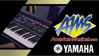 Yamaha PSR-E263 Package Overview - American Musical Supply