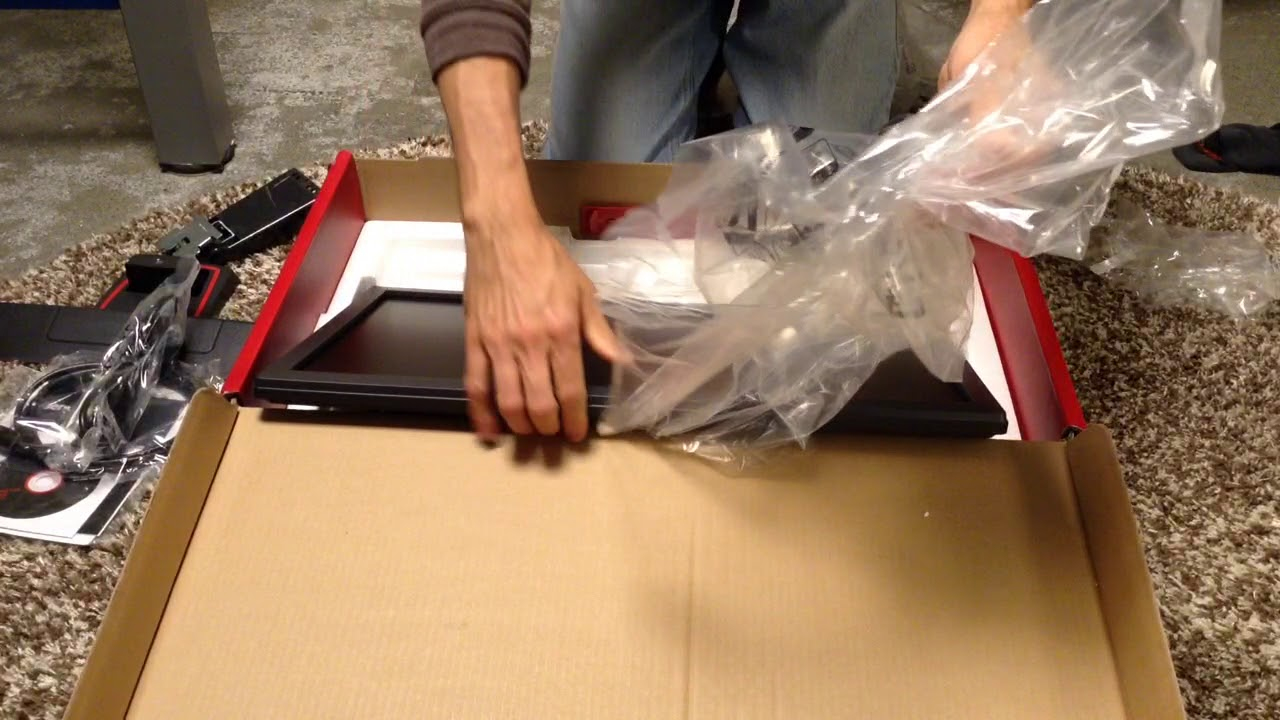 BenQ ZOWIE 24 inch Full HD Gaming Monitor UNBOXING