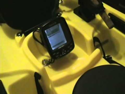 ocean kayak prowler trident 13 review (fish finder installed, Fish Finder