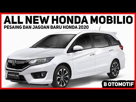 Tak Tinggal Diam ! Honda Akan Merilis Tampilan Baru Honda Mobilio Tahun Ini ?