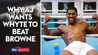 EXCLUSIVE: Why Anthony Joshua wants Dillian Whyte to beat Lucas Browne