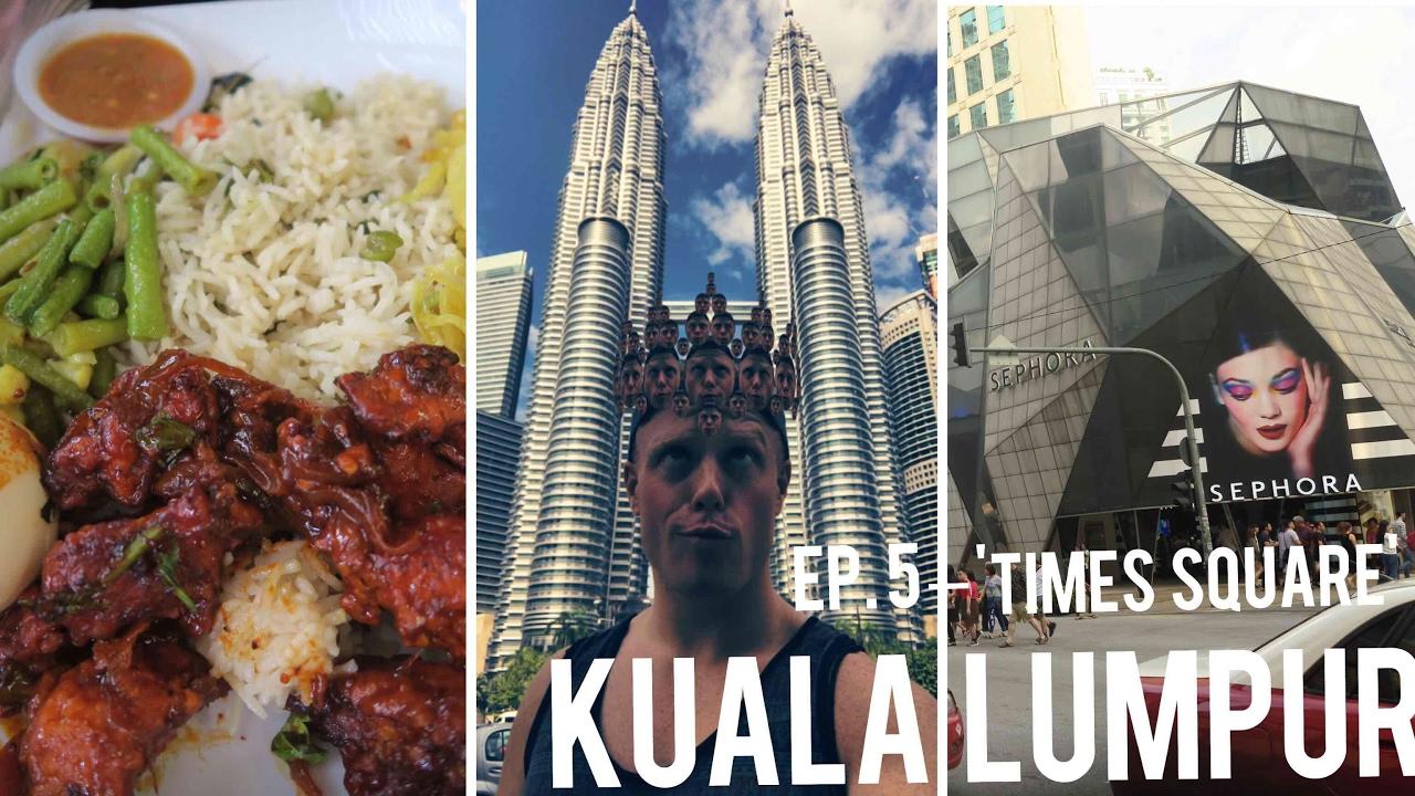 3 Days in KL Ep.5 ?? City Center KLCC Tour + Best Indian Malaysian Food Restaurant – Kuala Lumpur