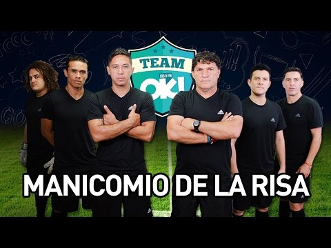 TEAM OK vs  MANICOMIO