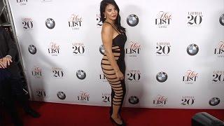 vuclip Tilda Del Toro Latina's 7th Annual Hollywood Hot List Red Carpet