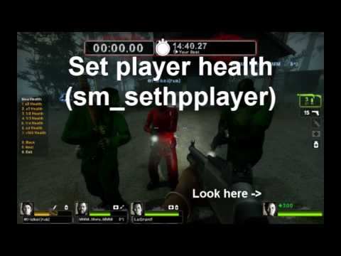 Top 10 Useful Console Commands Left 4 Dead 2 - MP3 MUSIC