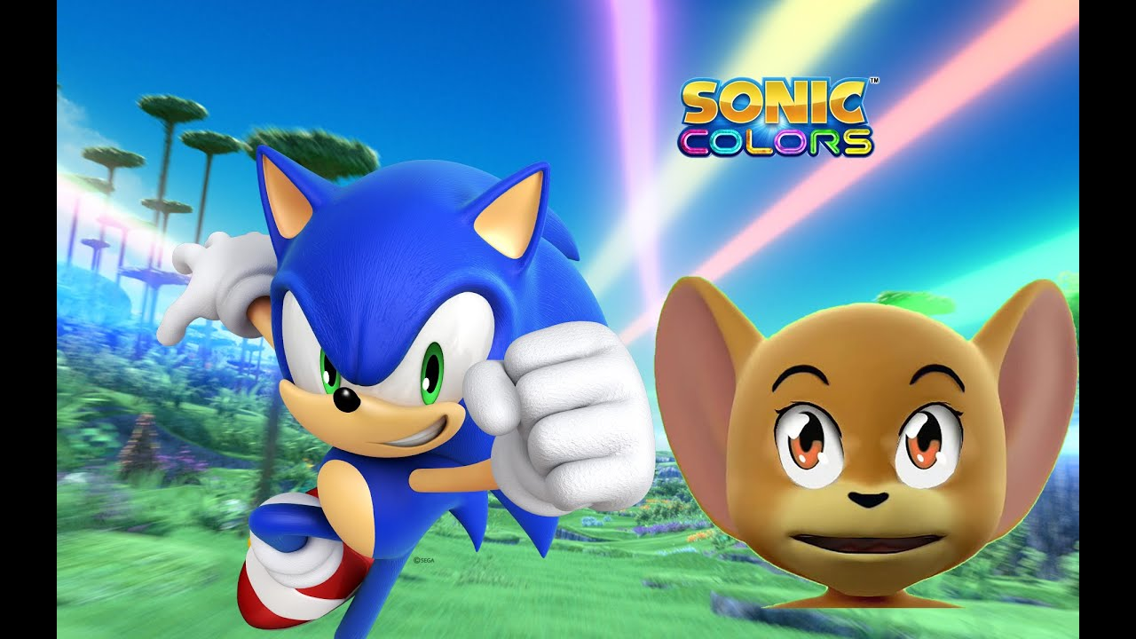 Tom and Jerry Plays Sonic Colors / Cartoon Games Kids TV