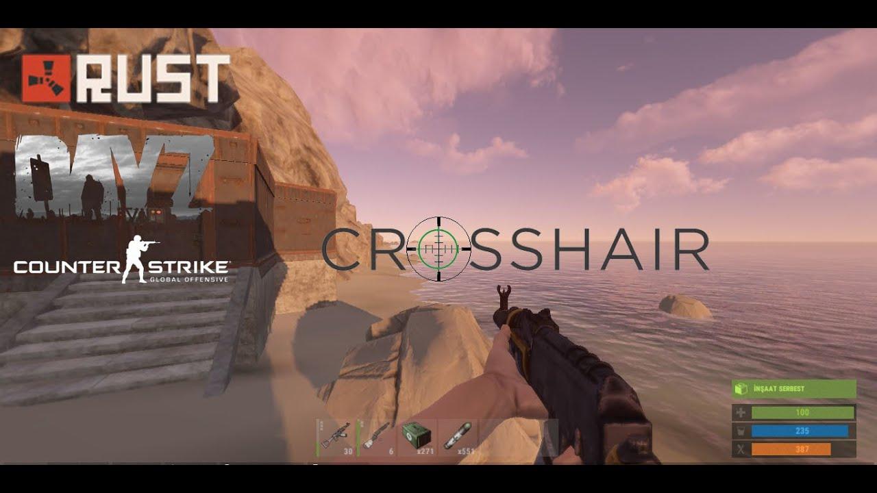 Rust ve Tüm oyunlar için Crosshair Türkçe | İndir