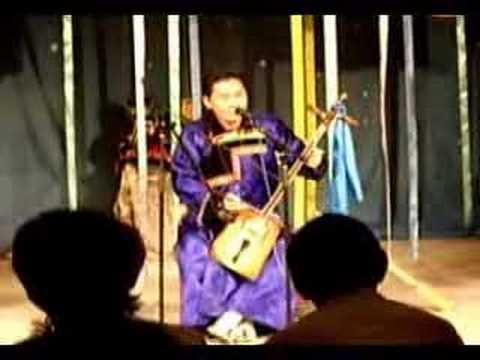 Buryat story teller 'ulgershin' 9