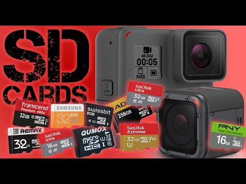 Pick the Right SD Card for Your GoPro
