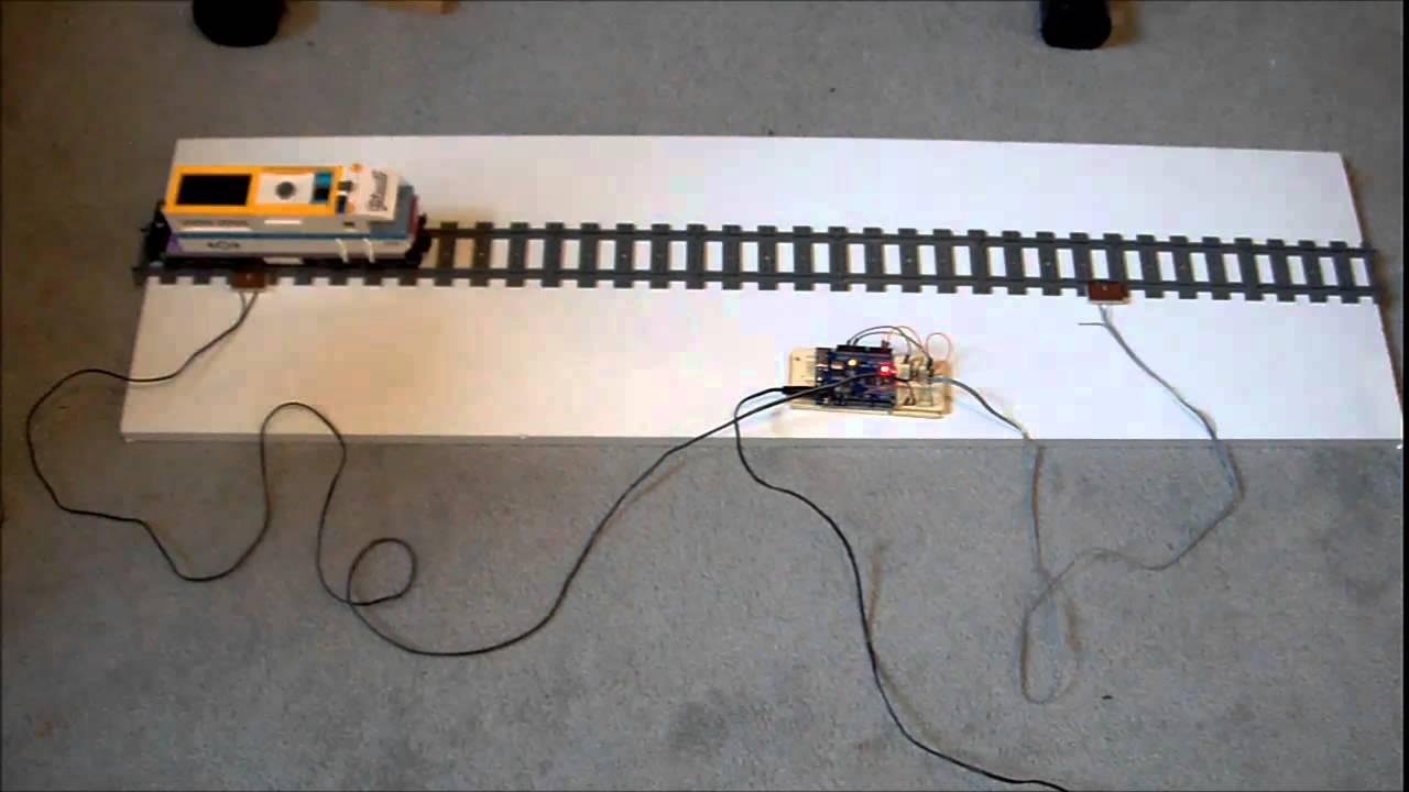 Lego train pong with arduino ir control doovi