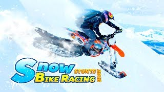 Bike Games - Snow Bike Drift Racer Fever & Quad Stunts 2018 - Gameplay Android free games