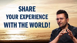 Share Your Experience With The World! #shorts #podcast
