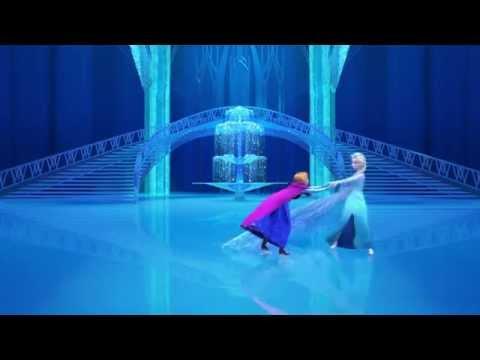 La Reine des Neiges - Patinage avec Elsa, Anna et Olaf