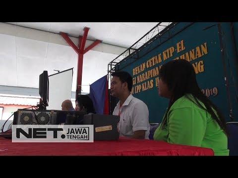 Sebanyak 136 Napi Wanita Ikuti Rekam E-KTP Agar Bisa Menyalurkan Hak Suaranya  - NET JATENG Mp3