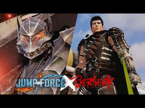 Jump Force - Guts (Berserk) Playable Character Gameplay (MODS)