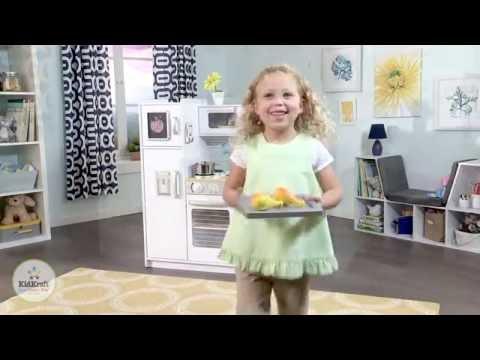 kidkraft weiße retro küche 53208 - youtube - Kidkraft Weiße Retro Küche 53208