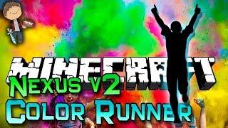 Minecraft NEW Mini-Game: Color Runner Nexus v2 Game w/Mitch & Jerome!