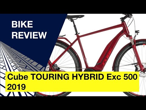 Cube TOURING HYBRID Exc 500 2019: Bike Review