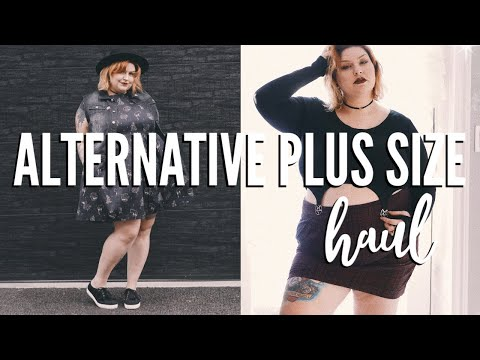 Alternative Plus Size Fashion Haul. http://bit.ly/2Xc4EMY