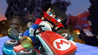 Minecraft: BOAT KART RACING vs. X33N