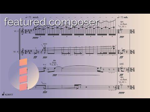 Chaya Czernowin — String Quartet [w/ Score]