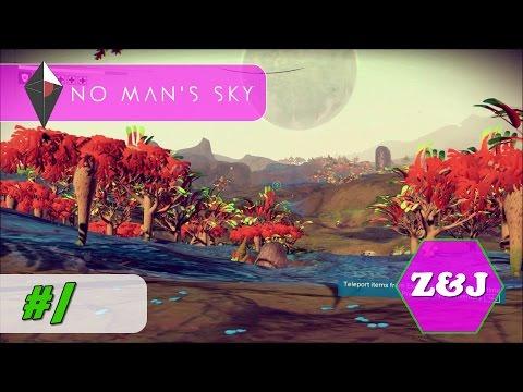 No Man's Sky - Let's Play Ep 1 - SHIP REPAIR!