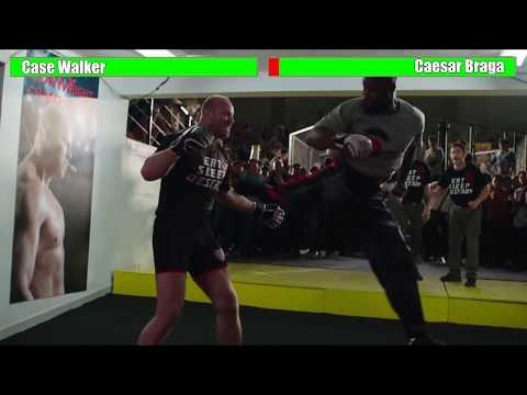Never Back Down 3 - Case Walker Vs. Caesar Braga [WITH HEALTH BARS]