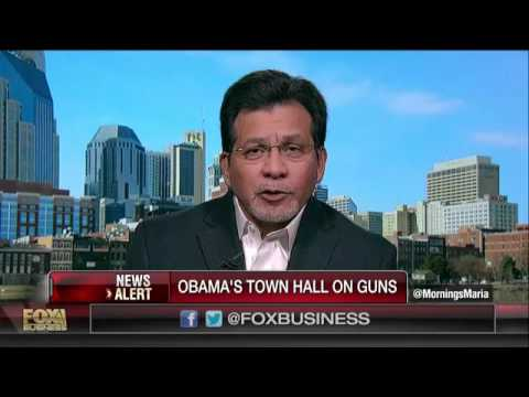 Alberto Gonzales: I'm In Favor Of Responsible Gun Ownership