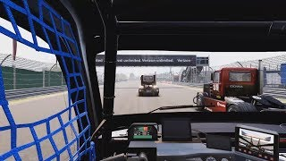 FIA European Truck Racing Championship - Indianapolis Gameplay